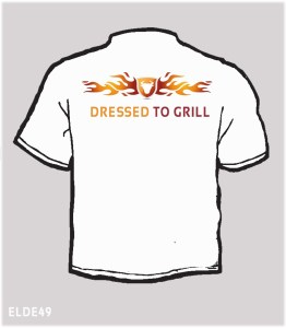 Dressed to grill