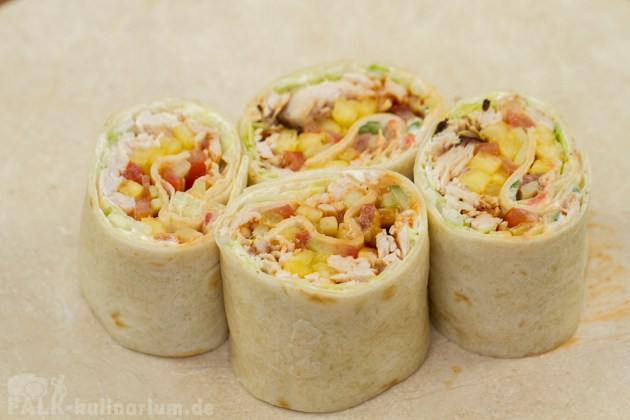 Pulled Turkey Wrap BarbecueStyle