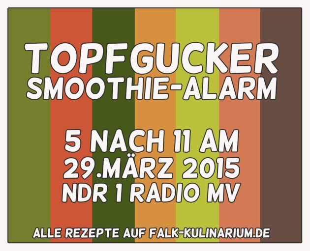 ndr1 radio mv topfgucker smoothie alarm