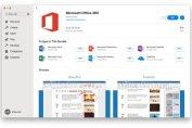 Microsoft Office 365 on Apple Mac App Store