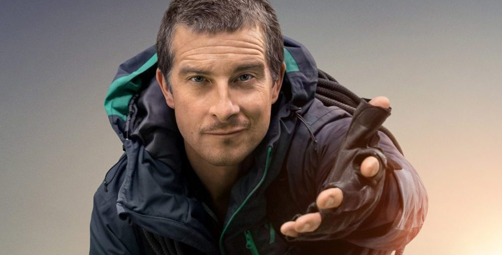 Bear Grylls in You vs Wild
