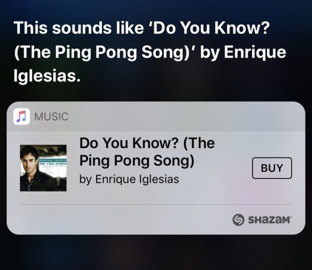 Recognize Songs with Siri