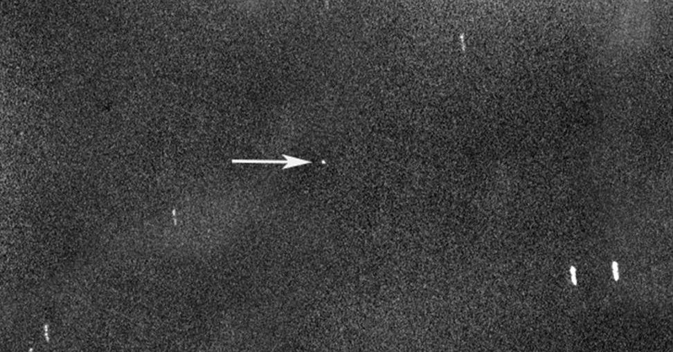 Image of Asteroid 2000 QW7 captured by the Virtual Telescope Project