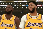 LeBron James and Anthony Davis in NBA 2K20