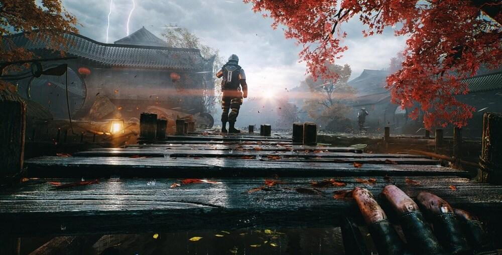 Bright Memory Infinite running on Xbox Series X