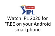 Watch IPL 2020 for Free on Android Smartphone
