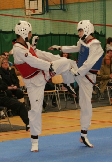 WTF Sparring