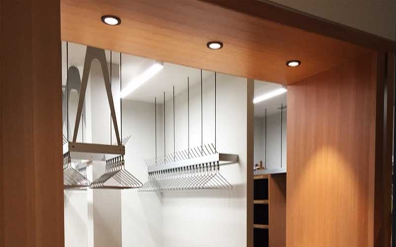 Cloak-room-joinery