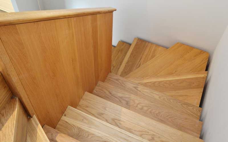 Timber-staircase