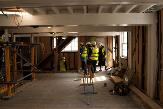 Cannock Mill residents tour
