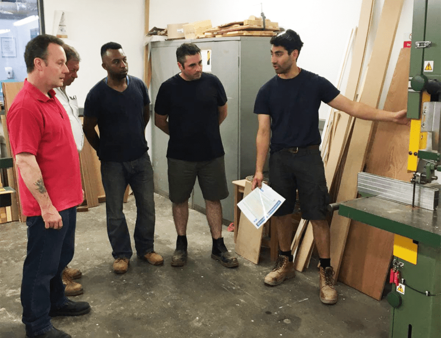 joinery course with Havering College
