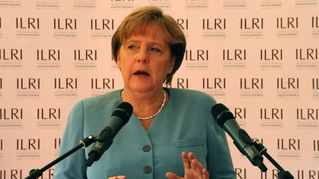 Angela Merkel. Photo by ILRI.