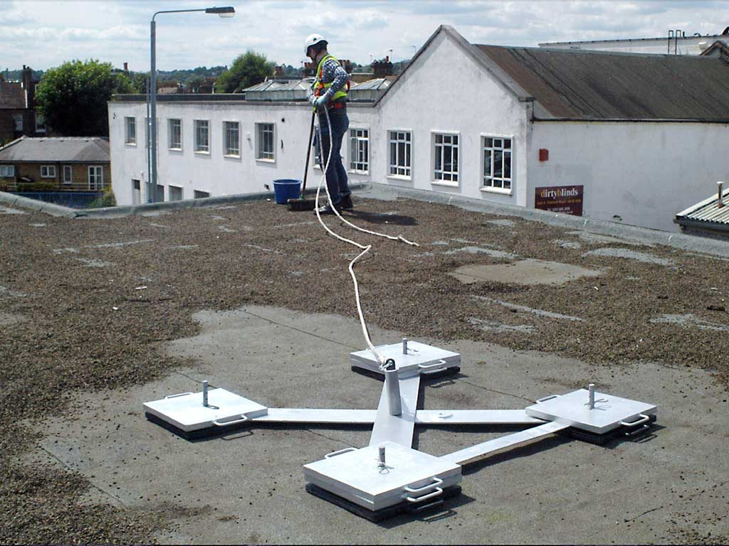 Protection Fall Temporary Roof Systems