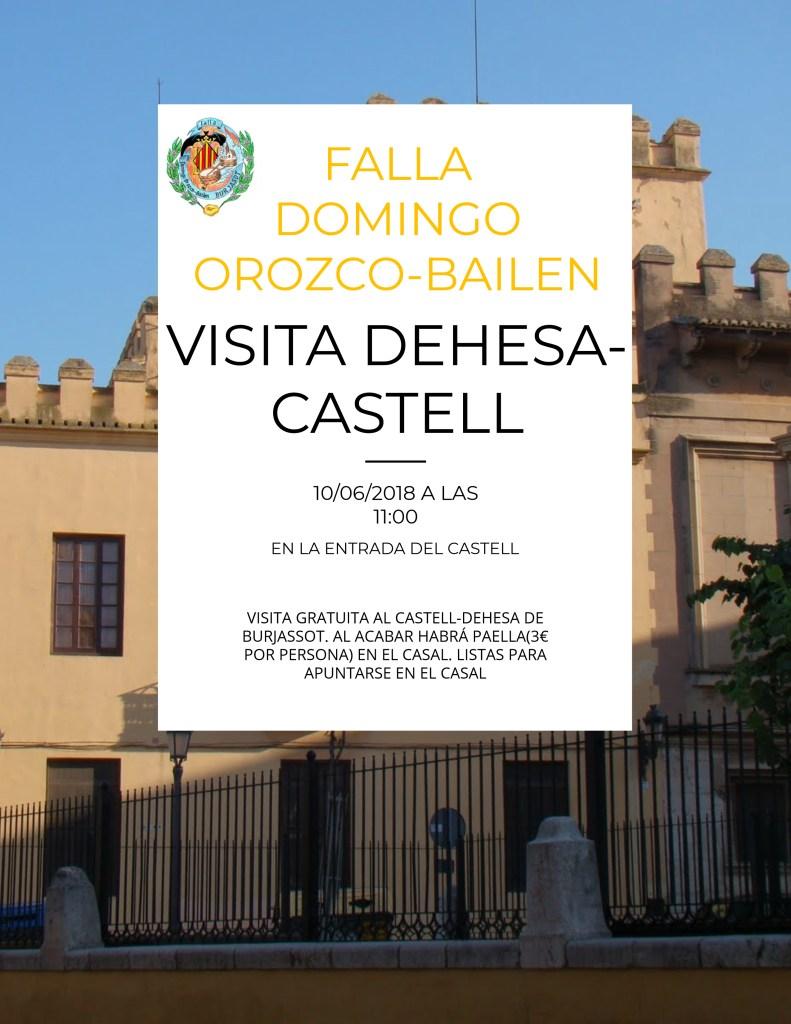 Visita dehesa castell