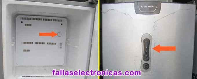 fallas comunes en refrigeradores