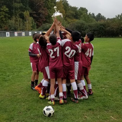 Boys 7/8 Champions - Westford Ghosts