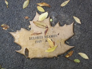 Leaf of Remembrance for Delores Beamon