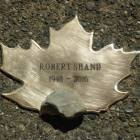 Robert Shand's Leaf with stone