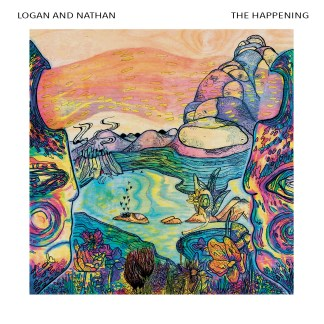 Album cover for Logan and Nathan's The Happening