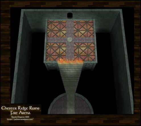 Chester Ridge Ruins: Fire Arena 10
