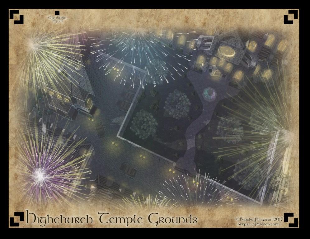 Highchurch Temple Grounds