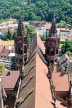 View of the Münster from the top of the tower
