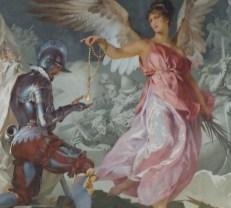 A mural from the Vatican Museums