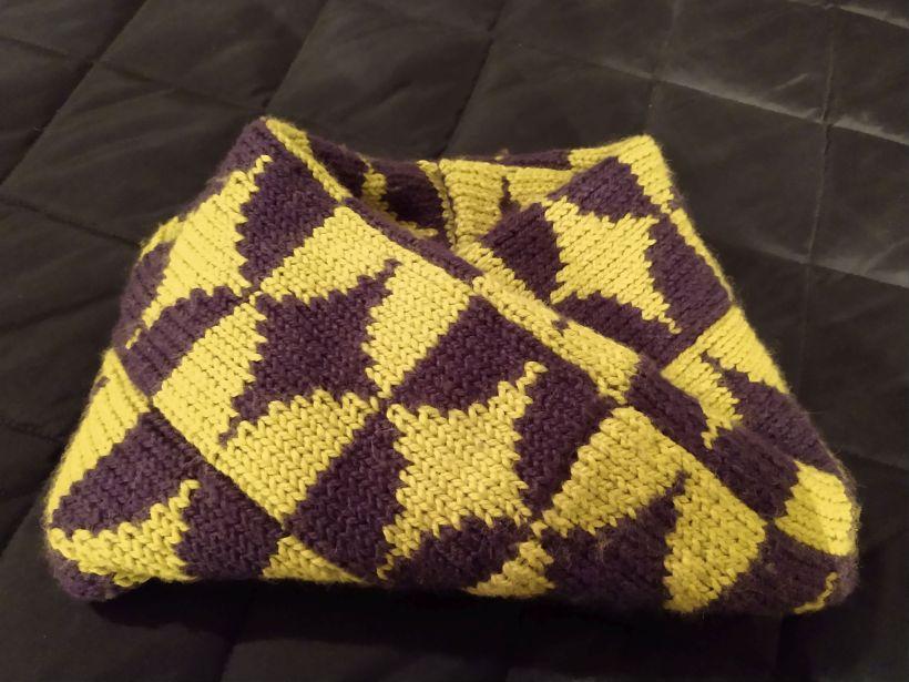 Fallingblog • Music, Food and Reversible Knitting