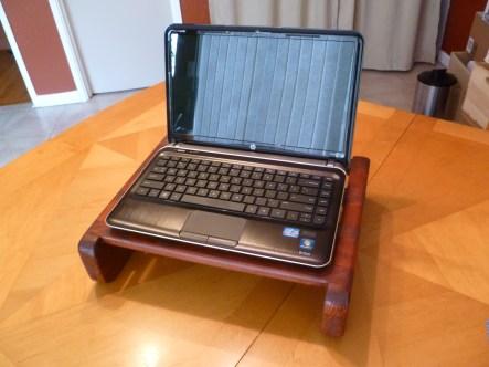 Redwood Computer Stand