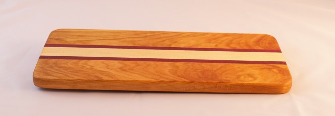 Cherry, Maple, Purple Heart Cheese Board