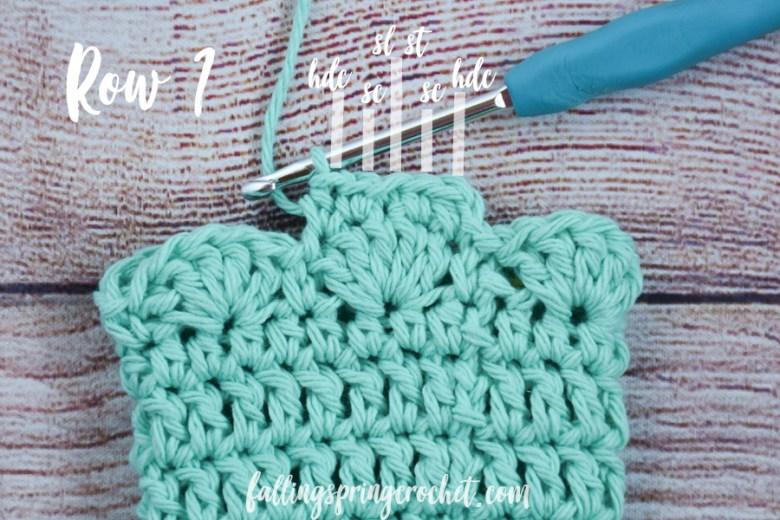 Falling Spring Crochet Water Bottle Sling Crochet Pattern Row 1 Long Strap Image