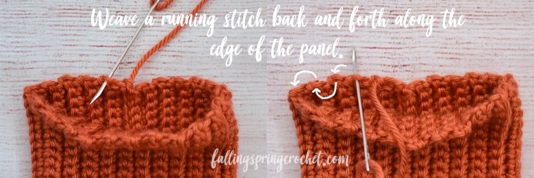 Falling Spring Crochet Easy Crochet Pumpkin Weaving a Running Stitch