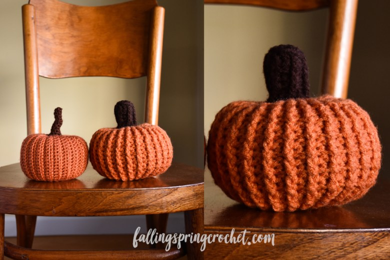 Falling Spring Crochet Easy Crochet Pumpkin 2