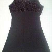 An'ge Paris zwart jurkje maat 38