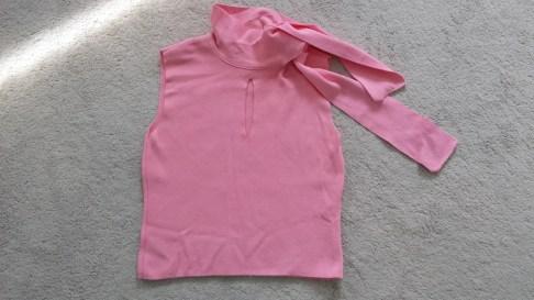 Amaya Arzuage roze top