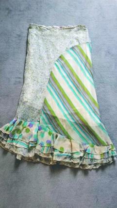 Halflange rok met ruches - GuessWhat! tweedehands kleding online