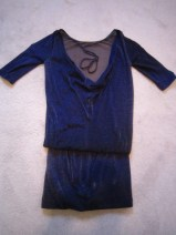 Patrizia Pepe blauw jurkje