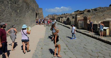 Entering Pompeii. Photo by BW.
