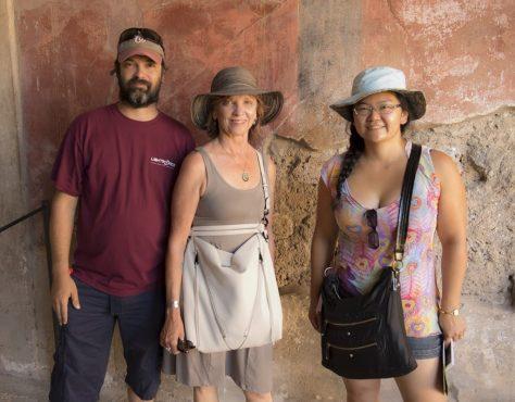 Jason, Nora, Kat. Photo by BW.