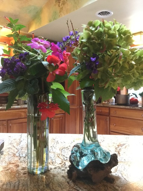 Fall flowers from the garden. Photo by Kayla.
