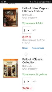 Promocja na Fallouty