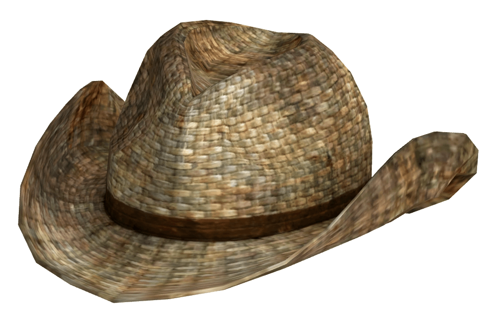 Rattan Cowboy Hat The Vault Fallout Wiki Fallout 4
