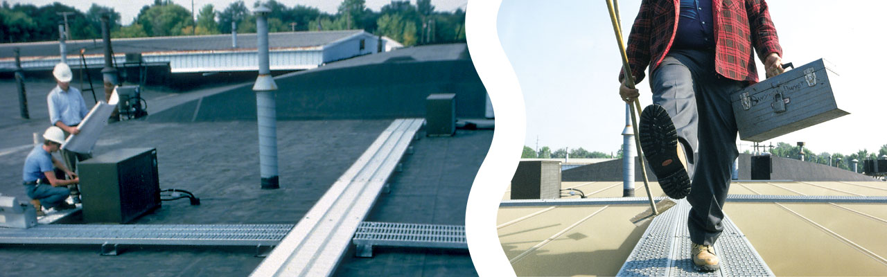 Fall Protection Options for Rooftop Walkways