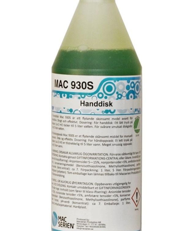 Mac 930S håndoppvaskmiddel