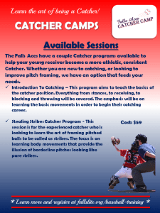 intro to catching