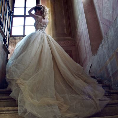 abito sposa strascico
