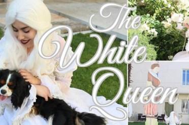 Regina Bianca Alice attraverso lo specchio