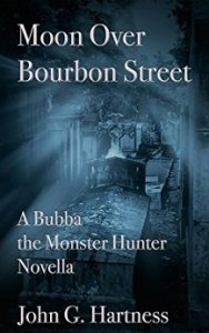 Moon Over Bourbon Street Cover (A Bubba the Monster Hunter Novella)