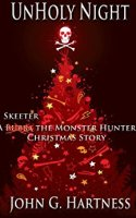 Cover Art for UnHoly Night (A Bubba/Skeeter the Monster Hunter Christmas Story)