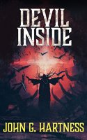 Cover Art for Devil Inside (Quincy Harker)